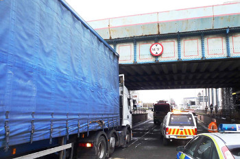 Too many lorries still hitting our bridges, Network Rail says