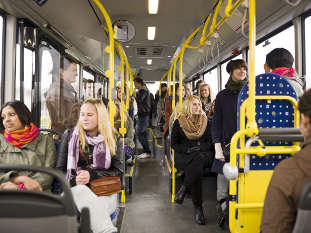 Study uncovers six factors driving bus use