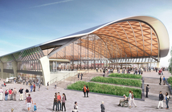 HS2 publishes images of 'transformational' Midlands stations