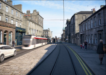 Four to bid for £90m Edinburgh tram extension contract
