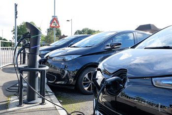 EVs take 10% of market as car sales plummet