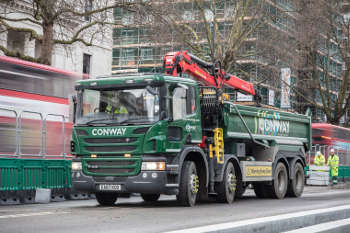 Conway splashes £7m on cleaner lorries ahead of ULEZ