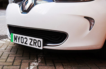 Shapps gives green light to EV number plate move