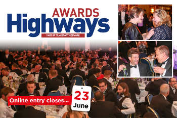 One week left to enter this year's Highways Awards