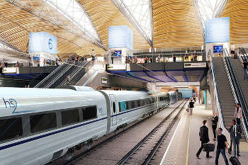 HS2 Bill backed but other projects 'conspicuously absent' from speech