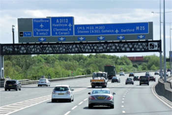 DfT report comes out against widening of M25 South West Quadrant