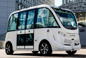Autonomous shuttle brings deep learning to Glasgow