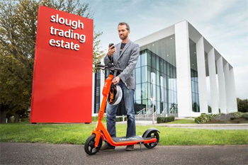 Safety first as Slough rolls out e-scooter trial