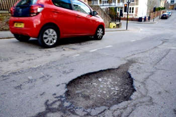 Pothole compensation 'costs councils nearly £3m a year'