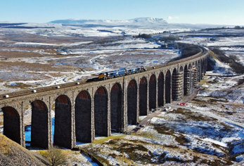 Historic viaduct restored ahead of visitor surge