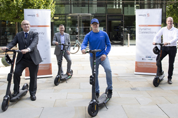 Staffs e-scooter trial goes Live